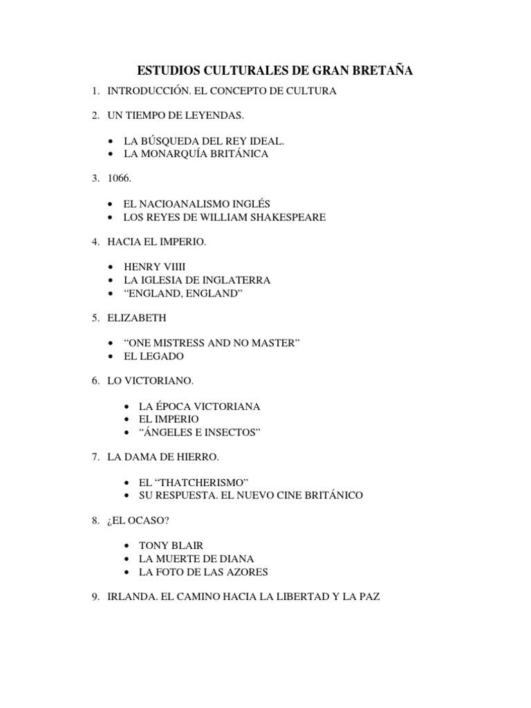 Estudios Culturales GB | Socialization | Society