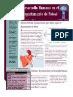 Estado de la Situación de los Derechos Sociales en Potosí