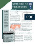 Estado de la Situación de los Derechos Sociales en Tarija