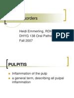 Pulpal Disorder Ppt