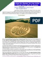 Diagrammes de champ, les crop circles