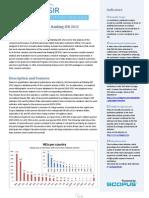 Ranking de Universidades  Iberoamericano 2012