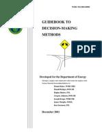 Decision Making Guidebook