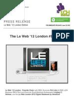 The Le Web '12 London #BuzzRoll feat. @Evernote @SendGrid #LeWeb
