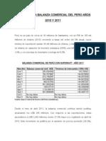 Análisis De La Balanza Comercial Del Perú En Los Últimos De Los 10 Años