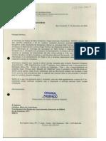 Ofício ao IBAMA sobre licenciamento