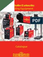 Welding Equipment Catalogue 2008-English 13.08