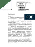 Resolución 11 junio 2012