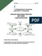 M11CDE Internet security Network configuration between three cities CISCO