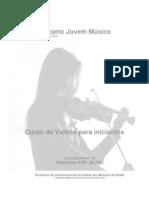 Violino Projeto Jovem Musico