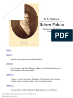 Robert Fulton - Engineer and Artist - H. Dickinson (1913) WW