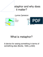 WHat is Metaphor