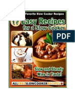 17 easy recipes for a slow cooker ecookbook