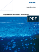 Liquid-Liquid Separation Technology
