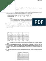 Probleme Propuse Examen 1