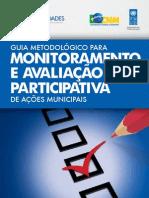 Guia Metodologico Para Monitoramente e AvaliacaoParticipativa 2012