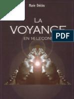 Delclos Marie - La voyance en 16 leçons