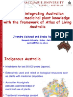 CMKb- integrating Australian customary medicinal plant knowledge with the framework of Atlas of Living Australia