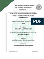66063863 Tesis Analisis de Transfer en CIA de Esfuerzo en Modelo de Fibra Simple Usando Fotomecanica