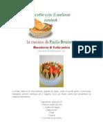 Ricette Con Il Melone Dolci e Salate