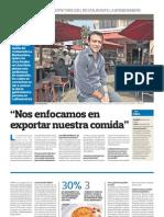 Emprendedor de Gastronomia Peruana