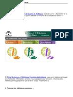 Portal de Lectura y Bibliotecas escolares de Andalucía