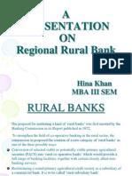 Ppt. Regional Rural Banks