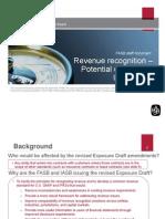 Revenue Recognition FASB 2012