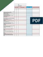 Peace Corps Focus in Train Up Criteria Checklist