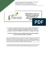 Talleres 2012 Convocatoria Final CEIP[1]