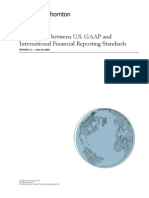 Comparison Between Us Gaap and International Financial1143