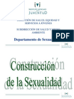Construcción de la Sexualidad