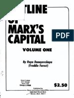 Outline of Capital Vol 1 - Dunayevskaya