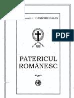 Arhim.ioanichie Balan - Patericul Romanesc