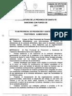 Ley Provincial de OB.