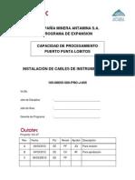 105-08655-500-PRO-J-005 - Instalación de Cables de Instrumentación Rev 0