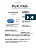 2 a small town goal to international awareness article and debate activity