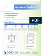 VHF Drop-In Isolators & Circulators