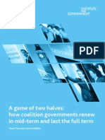 A Game of Two Halves - Institute for Government