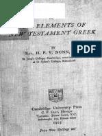 Key to Nunn's Elements