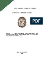 SÍNTESE E CARACTERIZAÇÃO ESPECTROSCÓPICA DE COMPLEXOS DE Sb(III), In(III) e Bi(III) COM O LIGANTE 1,2-DICIANOETENO-1,2-DITIOLATO.