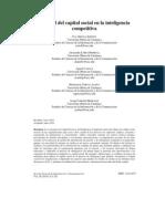 El papel del capital social en la inteligencia competitiva