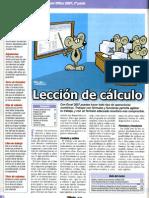 3º Formato de Hojas de calculo con Excel. Formulas y funciones