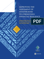 Improving the Assessment of Disaster Risks to Strengthen Financial Resilience