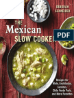 Recipes From the Mexican Slow Cooker by Deborah Schneider