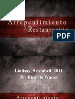 Arrepentimiento_& Restauración