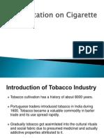 Presentation on Cigarette
