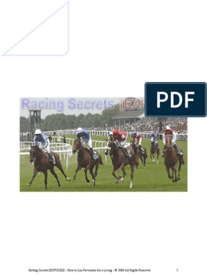 How to Lay Favourites for a Living | Odds | Handicapping