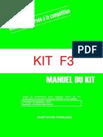 Manuel Kit f3 RS