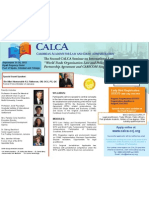 "Second CALCA Seminar on International Law - ""World Trade Organization Law and Policy - Interface with Economic Partnership Agreement and CARICOM Single Market and Economy"""